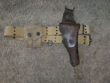 New ListingUs 1912 cavalry holster, belt, and magazine pouch