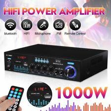 HIFI Verstärker bluetooth Stereo Amplifier Digital USB SD MP3 FM Radio 1000W DE