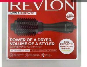 Revlon One-Step Hair Dryer & Volumizer Hot Air Brush, Purple Blow Dryer