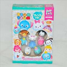 10pcs/set Disney Tsum Tsum PVC Stitch Scrump Oswald tiger toys Gift with box New