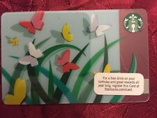 STARBUCKS Gift Card Spring Butterflies 2012 - FREE SHIPPING