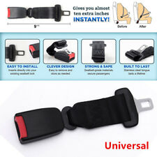 9'' Universal Car Seat Seatbelt Adjustable Safety Belt Extender Extension Buckle