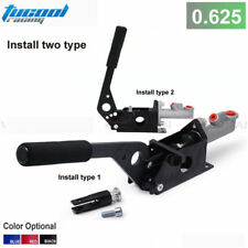 BLACK Universal Hydraulic Handbrake E-Brake 0.625 Vertical Horizontal Drift