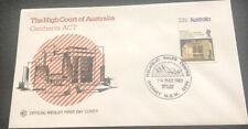 Australia WCS Fdc 1980 The High Court Of Australia Canberra