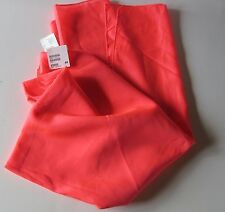 H & M NEON PINK BATHING SUIT WRAP size OS  SKIRT COVER UP  NWT #1179