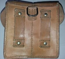 SERBIAN & YUGOSLAV ARMY HARD LEATHER SKS AMMO POUCH FOR MAUSER 2 CELLS