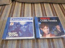 Resident und Silent Sega Dreamcast Spiele