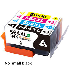4PK Ink New Chip For HP 564 564XL Photosmart B209a C310a C510a C410 e-All-in-One