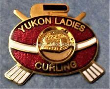 YUKON LADIES CURLING ASSOCIATION Pin YUKON CANADA Mint