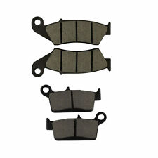 Brake Pads Kit for Honda CR250R XR400R Suzuki DR-Z 400 Kawasaki KLX250 S KLX300