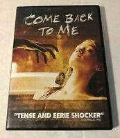 Come Back to Me (DVD, 2015) RARE HORROR MOVIE Free Shipping