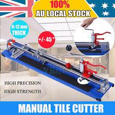 Heavy Duty 800MM Manual Tile Cutter Ceramic Porcelain Cutting Machine 8-12mm AU