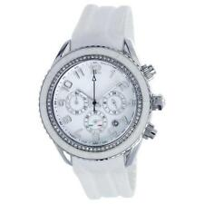 T10 MARACUJA WATCH IN SILICON , 3 SPHERES AND STRASS T10-C010BI, WHITE