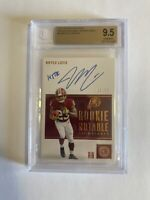 Bryce Love BGS 9.5/10 2019 Panini Encased Rookie Notable Signatures Auto /50 Gem