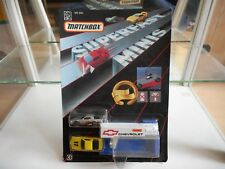 Matchbox Superfast Minis Chevrolet on Blister