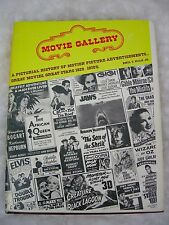 Movie Gallery Pictorial History 1920-1970 Advertisements Book Emil T. Noah VTG