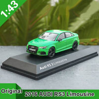 1:43 Original 2016 AUDI RS3 Limousine Diecast Car Metal Model Collection Toys