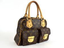 Auth [Average] LOUIS VUITTON Manhattan PM M40026 Handbag Women's (Used) 45355