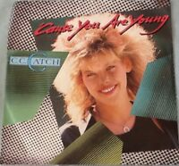 C. C. Catch - 'Cause You Are Young/One Night's Not Enough (1986) Vinyl