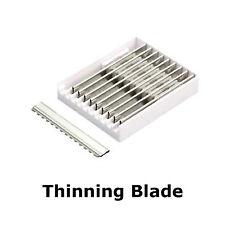 10 x Thinning Razor Blades Straight Shaving Thinning Razor, Hair Cut, NEW