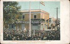 PERU MANIFESTACION EN HONOR DE COLOMBIA LIMA 20 DE JULIO 1901