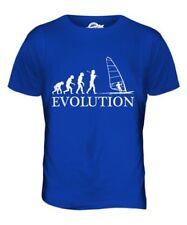 Windsurfing Evolution Of Man Mens T-Shirt Tee Top Gift Clothing Windsurfer Surf