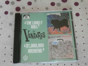 The Ventures - Lonely Bull + $1,000,000 Weekend (CD) (million dollar)