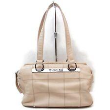 Chanel Shoulder Bag  Pinks Leather 1130226