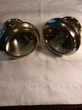 1914 Cadillac brass Gray & Davis cowl lamps in excellent cond a left and right