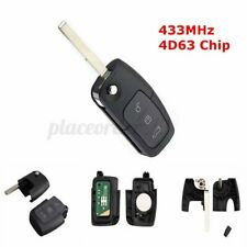 Remote Key Fob 3 Button 433MHz Chip 4D63 for Ford Focus Mondeo Fiesta S-Max *