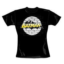 "BATMAN ""WALL LOGO"" Official Womans T-Shirt (XL)"