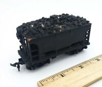 HO Scale Union Pacific UP 1369 Ore / Coal Car Painted Black w/ LOAD