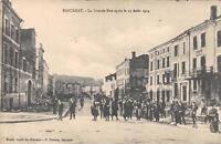 CPA 54 BACCARAT LA GRANDE RUE APRES LE 25 AOUT 1914 (animée