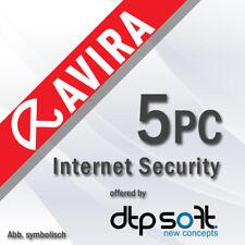 Avira Internet Security Suite 5 PC 2020 VOLLVERSION 5 GERÄTE 2020 DE