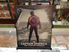 Blu Ray + 3D - Captain America: The Winter Soldier (2014) - Steelbook - NTSC