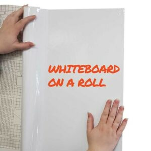 Eduk8 Whiteboard on a roll, reusable, cut/stick to many surfaces