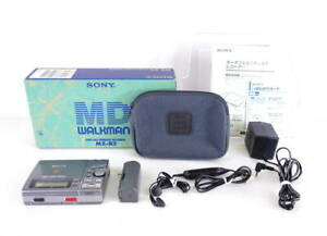 SONY MZ-R3 MD Minidisc Recorder w/Box Tested Working Perfect F/S
