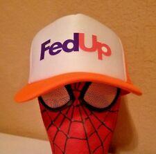 FedEx fed ex UPS uniform Trucker Hat Cap new not Vintage FedUp Up