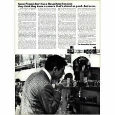 1967 Hasselblad: Think They Know Camera Almost As Good Vintage Print Ad