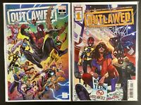 Outlawed #1 Marvel Comics CVR A & Exclusive Wraparound Variant HOT BOOKS 1st APP