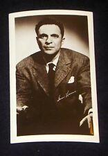 Sam Levene 1940's 1950's Actor's Penny Arcade Photo Card