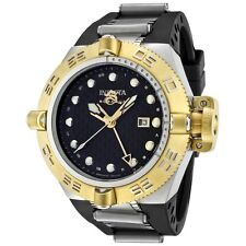 Swiss Made Invicta 1157 Subaqua Noma IV GMT Two-Tone Black Dial Men's Watch