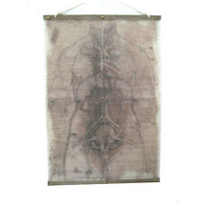 Gothic Haunted House Body Parts Drawing Canvas Halloween Wall Decoration 31