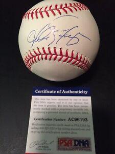 ANDRES GALARRAGA Signed Autograph Auto ROMLB Baseball Ball Rockies Expos PSA/DNA