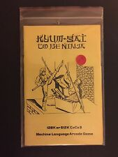 Kyum-Gai: To Be Ninja Game Tandy TRS-80 Color Computer CoCo 3 OS-9 Disk NEW!