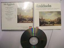 MENDELSSOHN/MUTI/PHILHARMONIA ORCH: Symphony 3, 5 – 1996 UK CD Remastered