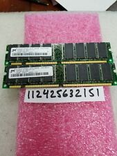 512MB 2X 256MB PC PC100 SDR SD SDRAM 100  168PIN NON-ECC INTEL PC DESKTOP 16X8