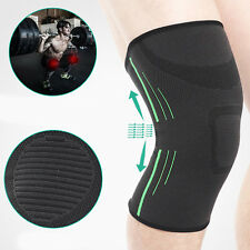 2 x Compression Knee Support Sleeve Bandage Strain/Sprain Injury Sports Running