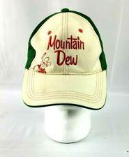 Mountain Dew Strapback Hat Ya-Hoo Vintage Retro Nice!