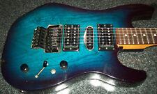 G&L Climax Plus Guitar Blue Burst Hardcase Invader Floyd Rose Seymour Duncan